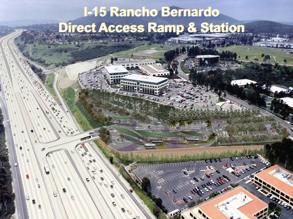 I-15 Rancho Bernardo Direct Access Ramp & Station