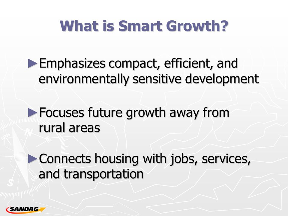 What is Smart Growth.