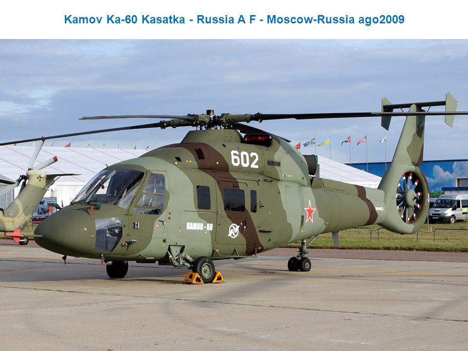 Kamov Ka-60 Kasatka - Russia A F - Moscow-Russia ago2009