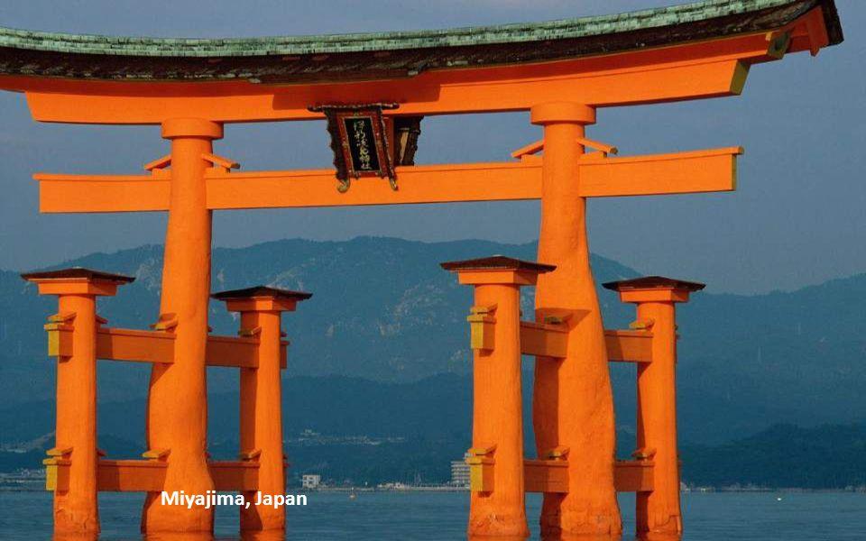 Miyajima Shrine at Sunset, Miyajima, Japan