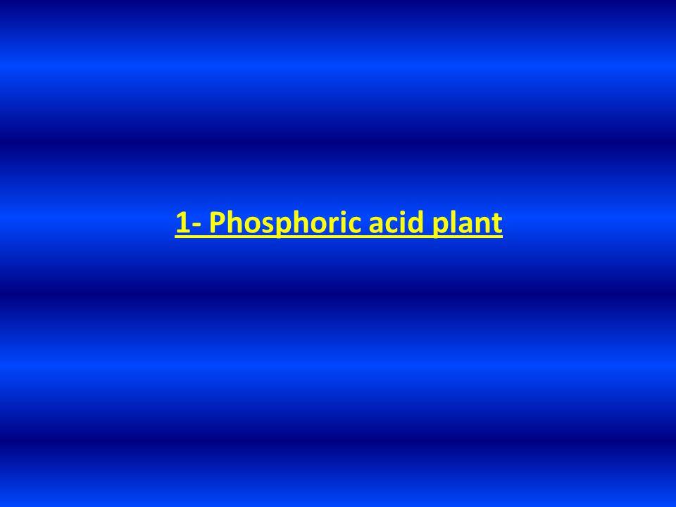 1- Phosphoric acid plant