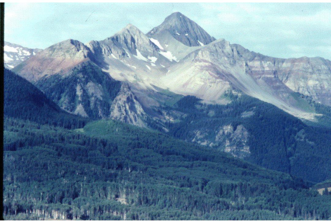 January Minimum Temperature Central Colorado Gunnison Valley Bottom Elev = 2316 m Below Inversion Lapse = 5.3°C/km T = -16.2°C