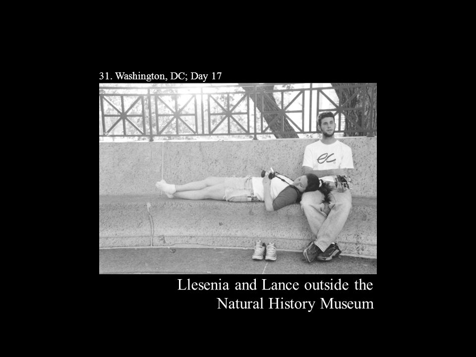 31. Washington, DC; Day 17 Llesenia and Lance outside the Natural History Museum