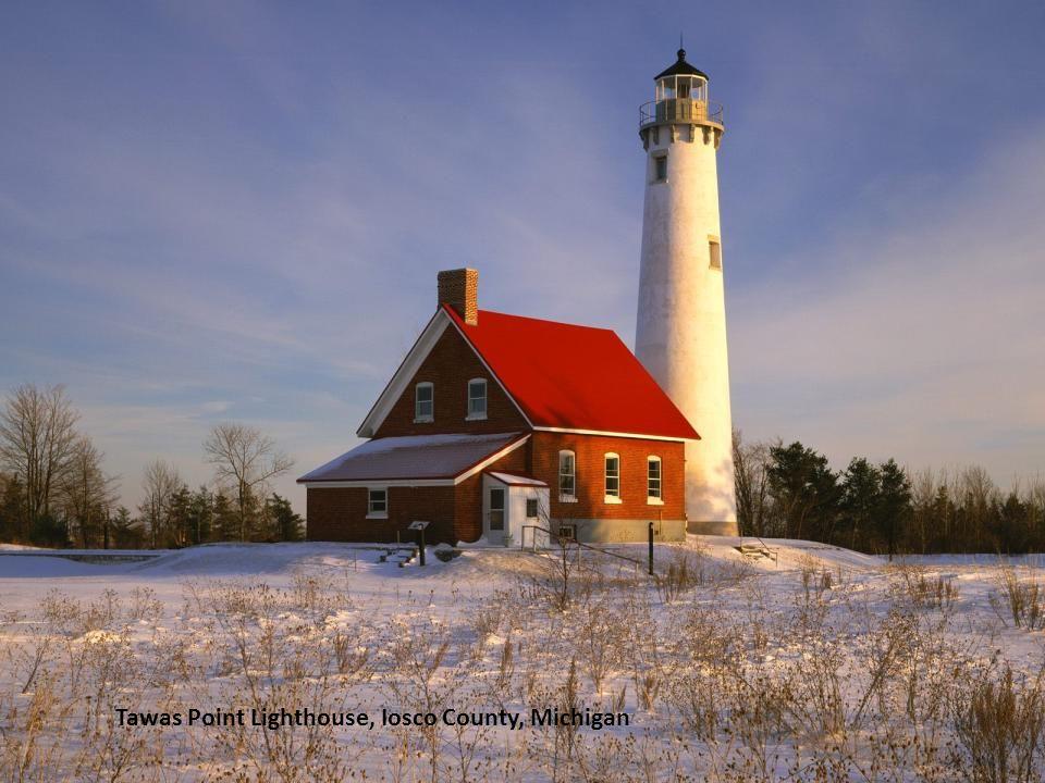 Sunrise light on Pemaquid Lighthouse, New Harbor, Maine