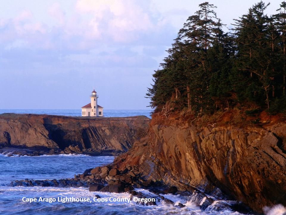 Cape Arago Lighthouse, Coos County, Oregon