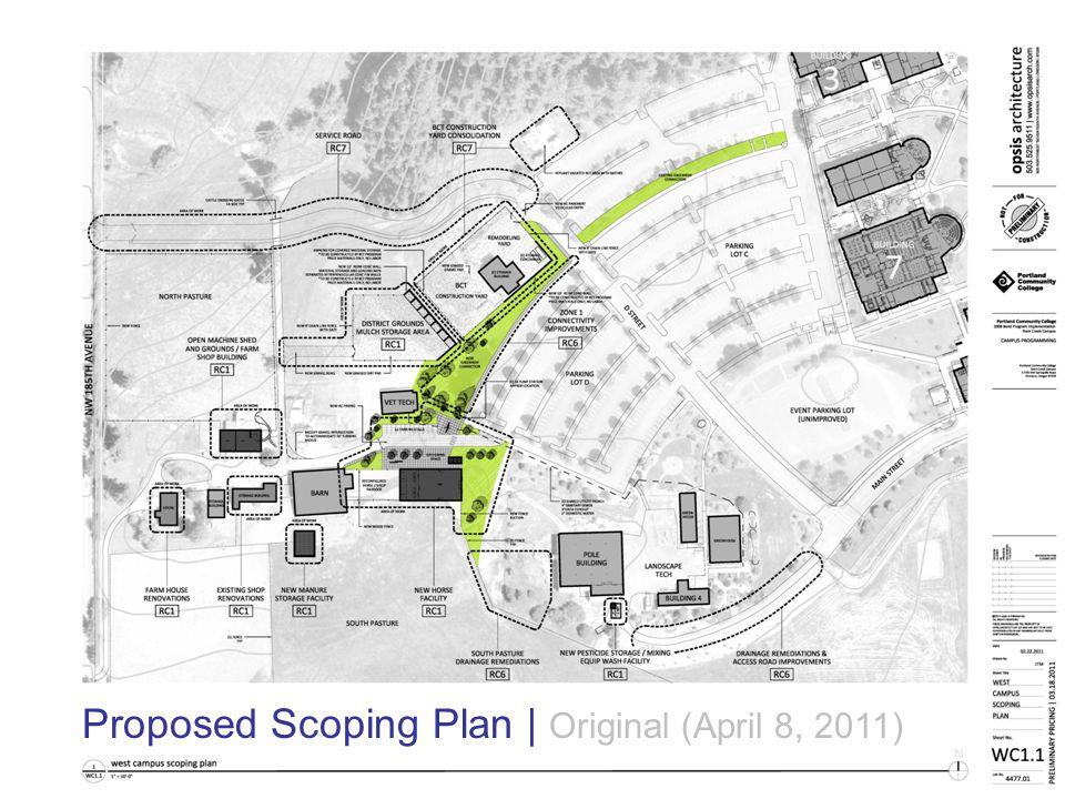 2008 Bond Program Implementation | Rock Creek Campus opsis architecture LLP Proposed Scoping Plan | Revised (April 22, 2011)