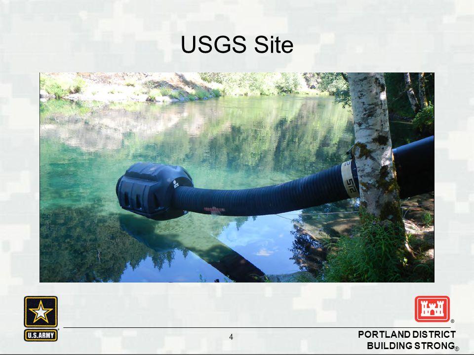 BUILDING STRONG ® PORTLAND DISTRICT 4 USGS Site
