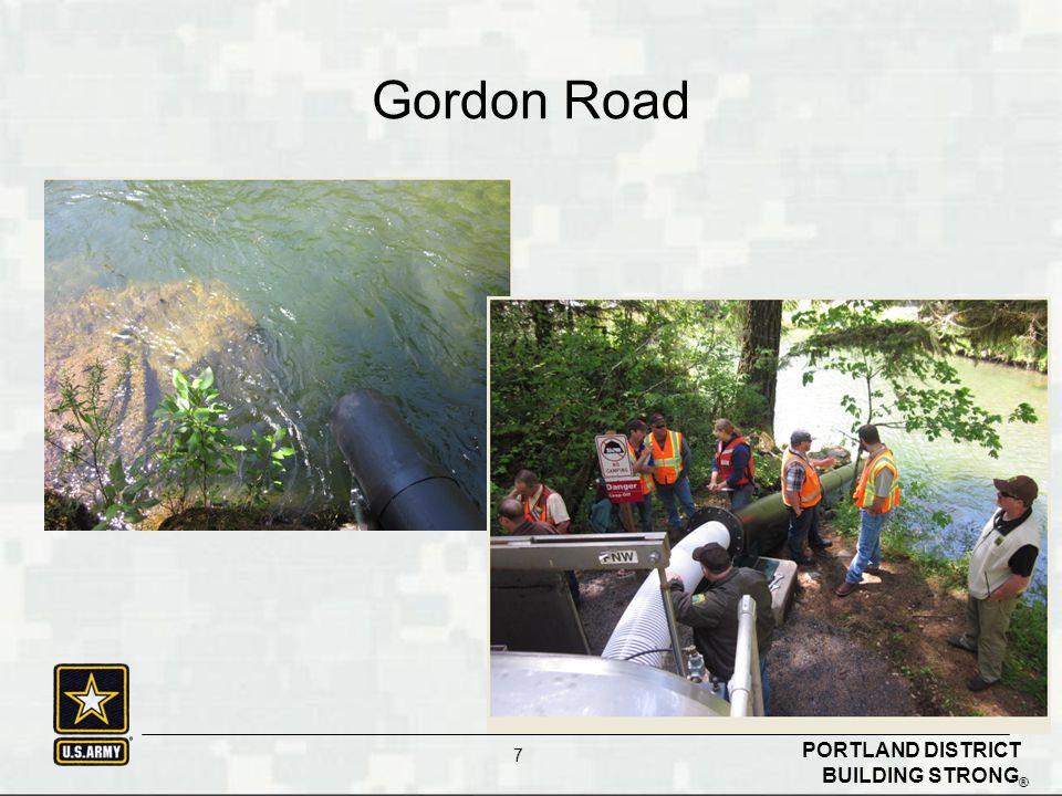 BUILDING STRONG ® PORTLAND DISTRICT 7 Gordon Road
