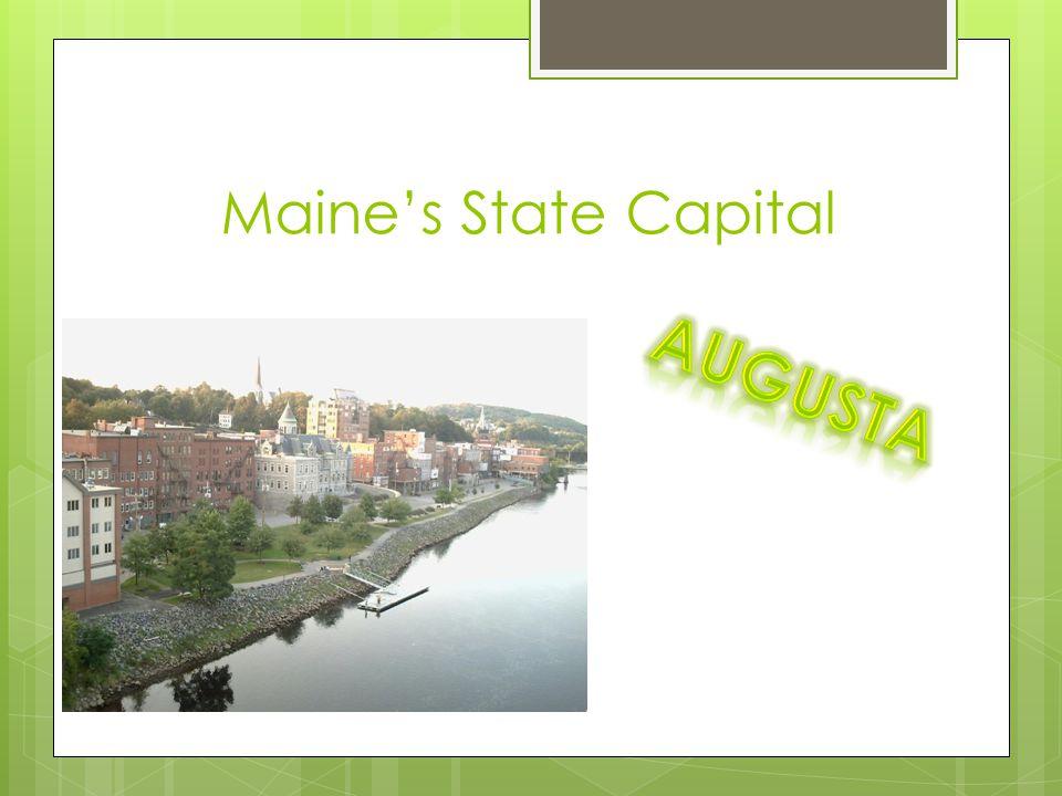 Maine's State Capital