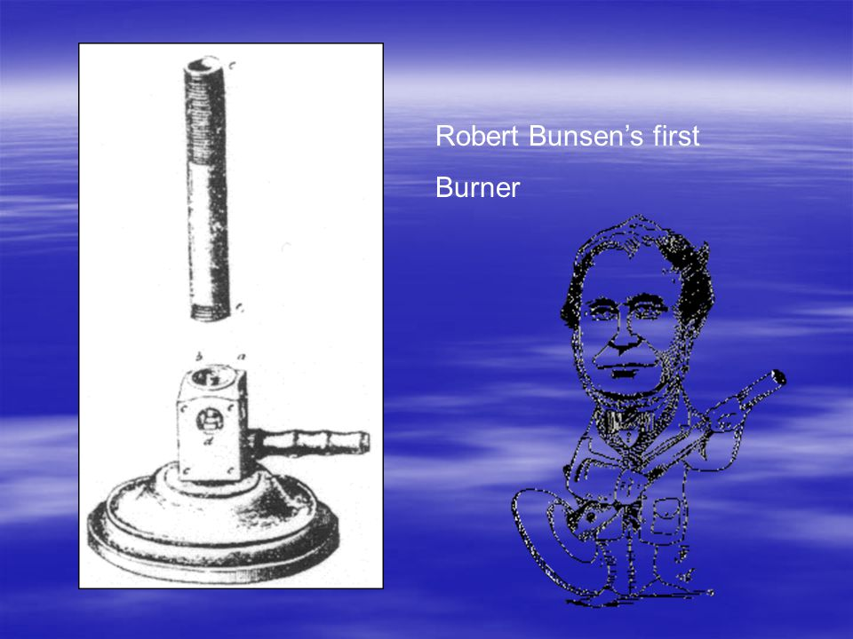 Robert Bunsen's first Burner