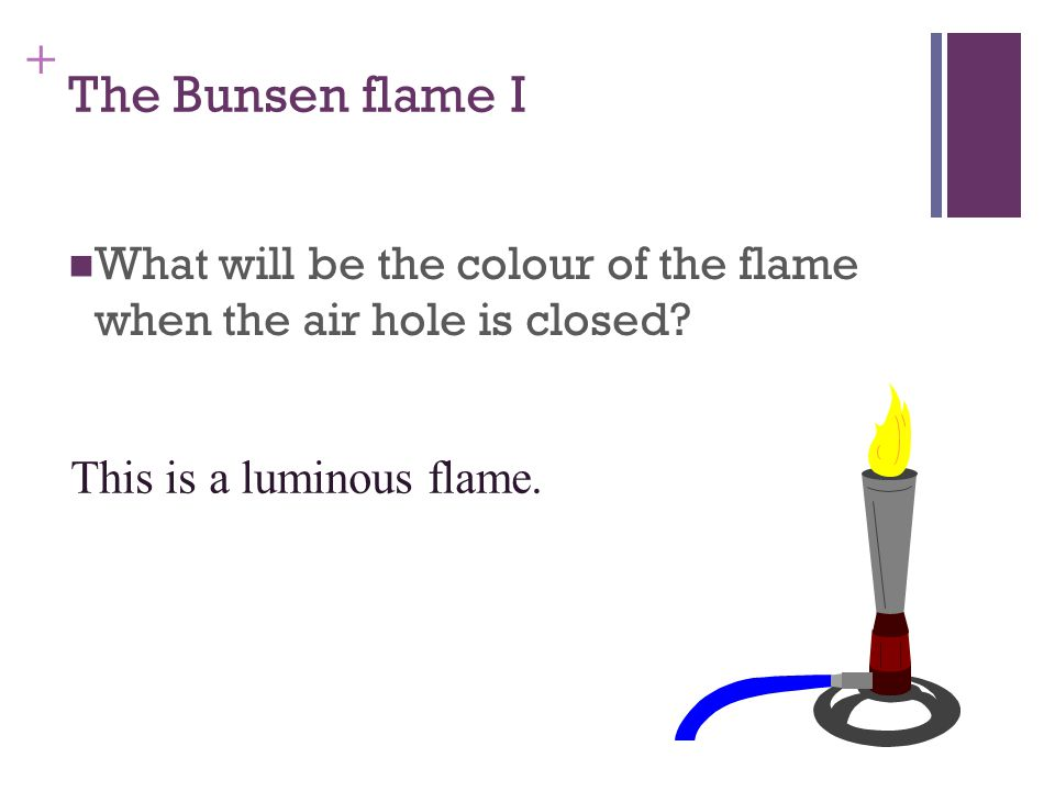 How do we use a Bunsen burner 3.Light a match and hold it over the chimney. Turn on the gas tap.