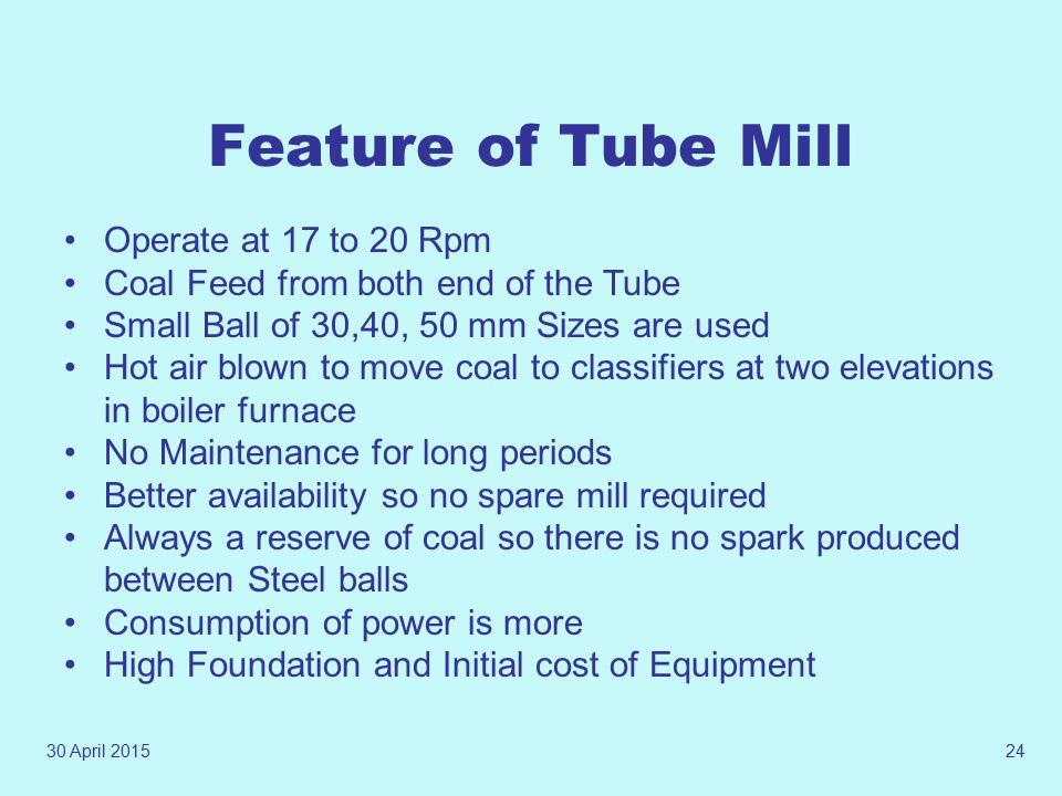 30 April 201523 Tube Mill Internals