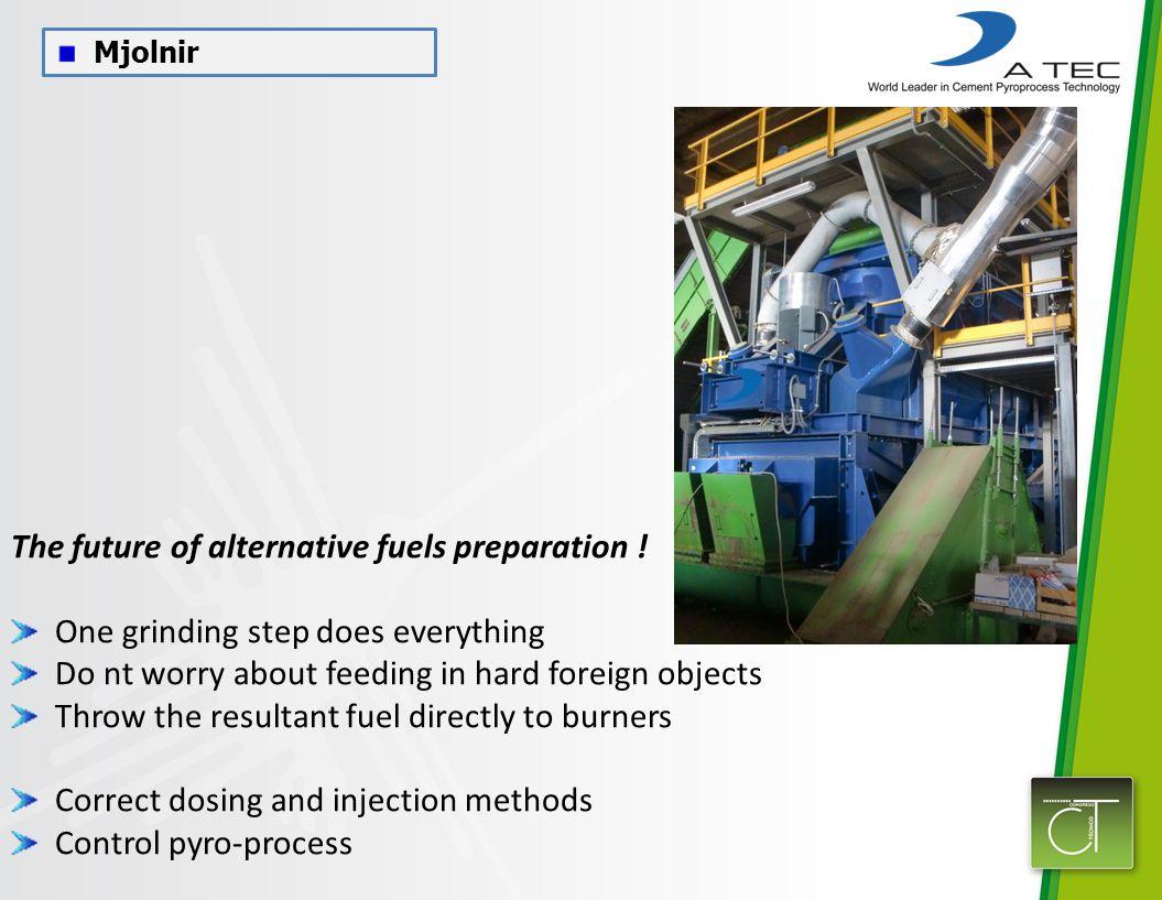 Mjolnir The future of alternative fuels preparation .