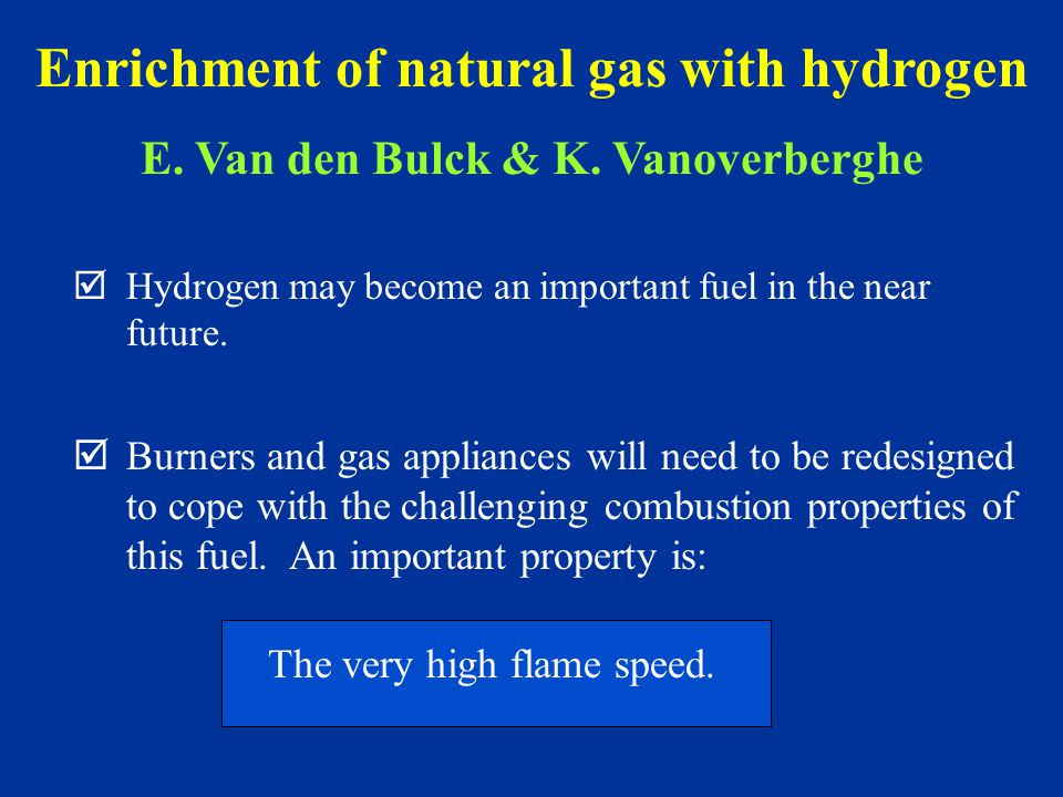 þHydrogen may become an important fuel in the near future.