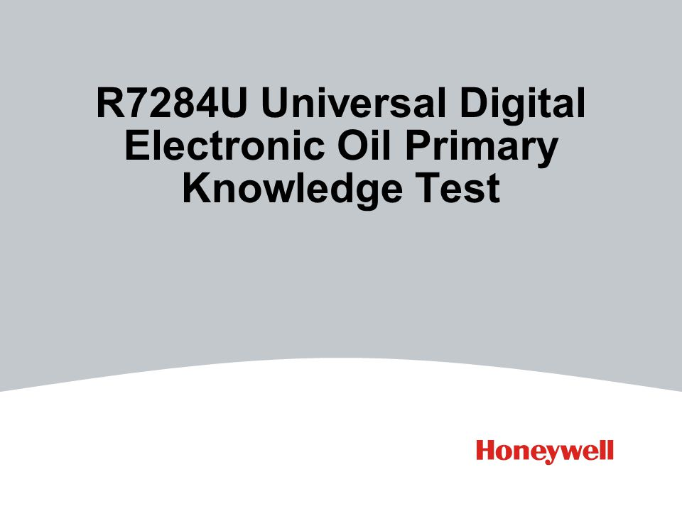 R7284U Universal Digital Electronic Oil Primary Knowledge Test