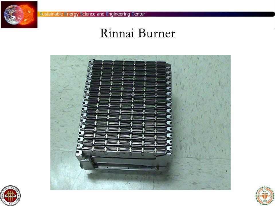 Rinnai Burner