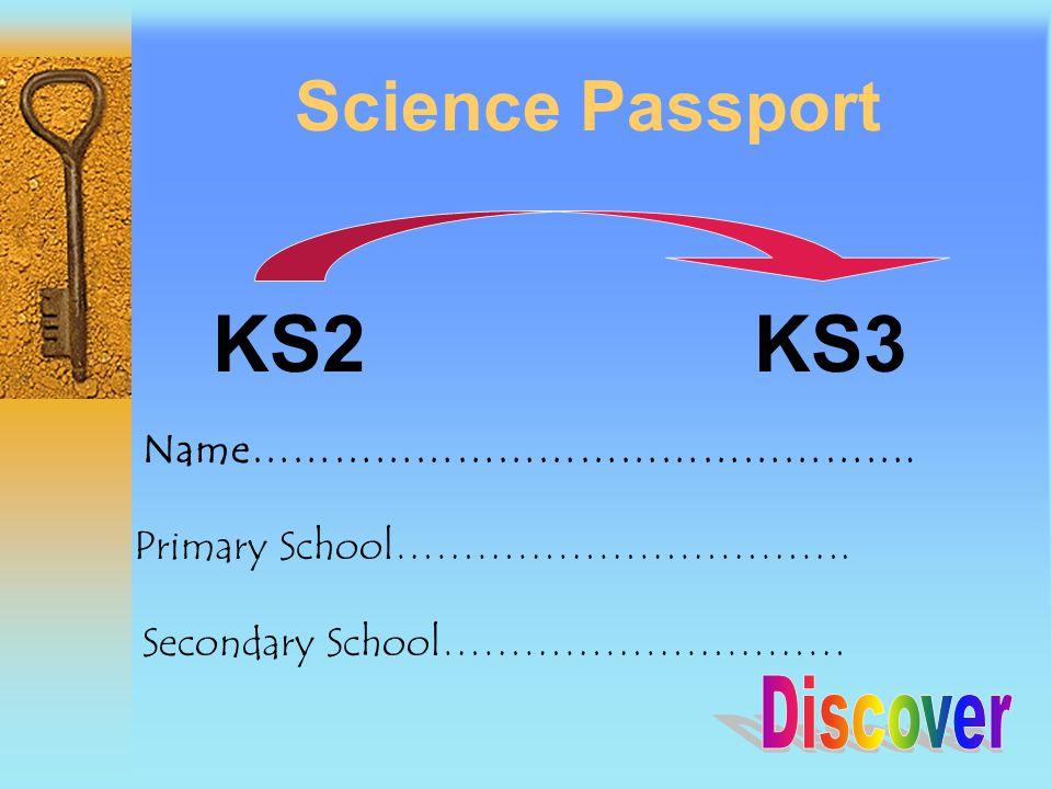 Science Passport KS2 KS3 Name………………………………………….Primary School…………………………….