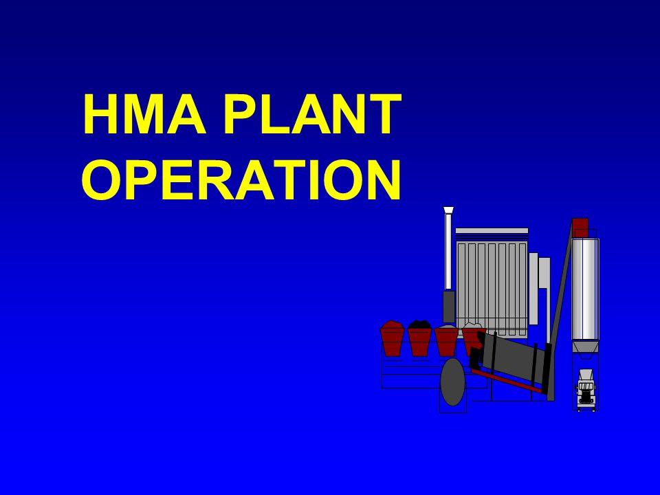 HMA PLANT OPERATION