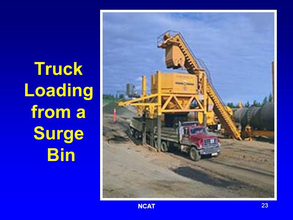 NCAT 23 Truck Loading from a Surge Bin