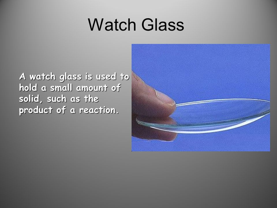 Glass Stir Rod A glass rod is used to manually stir solutions.
