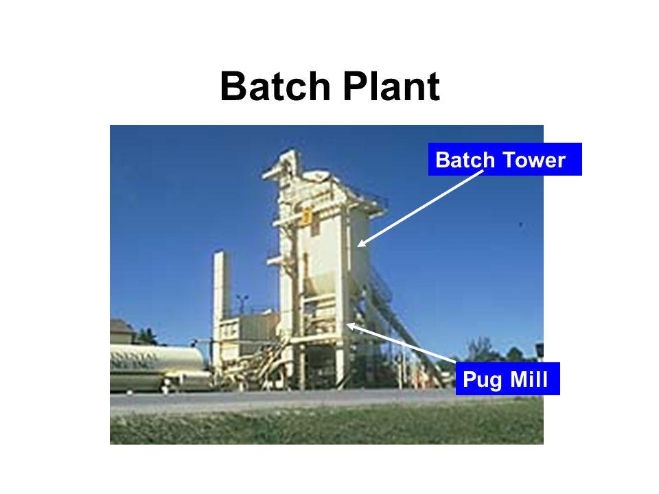 NCAT 24 Batch Plant Batch Tower Pug Mill