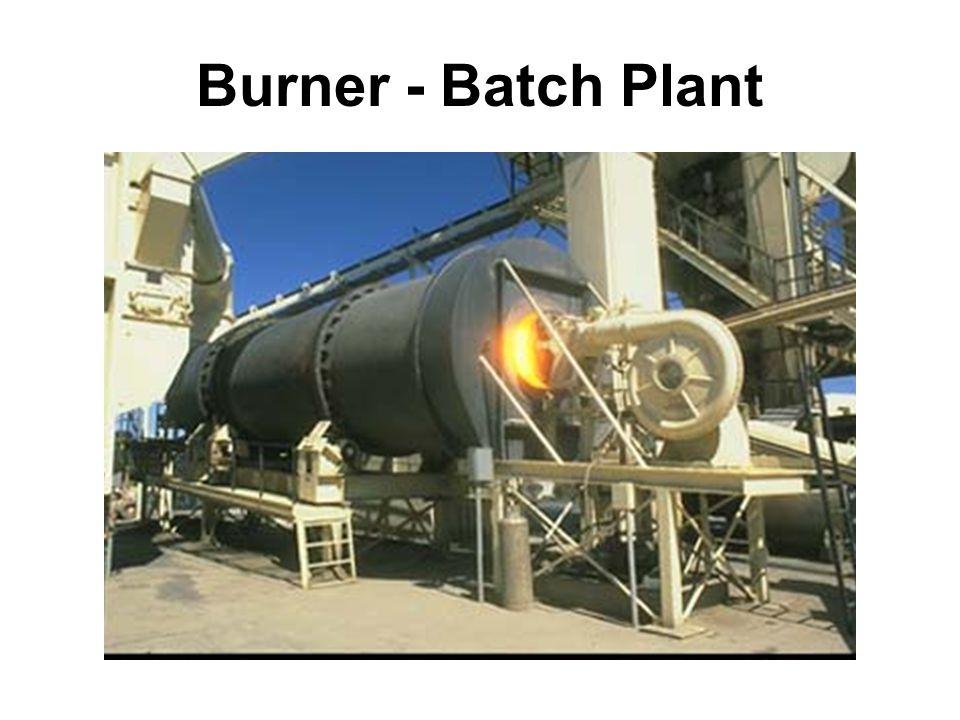 NCAT 25 Burner - Batch Plant