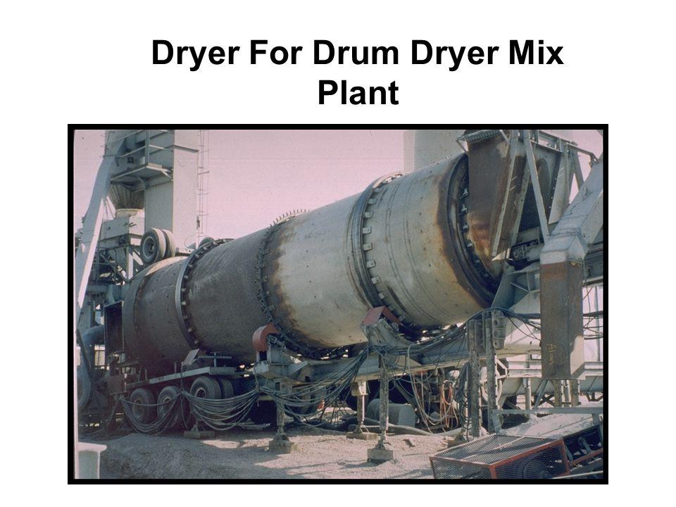 Dryer For Drum Dryer Mix Plant