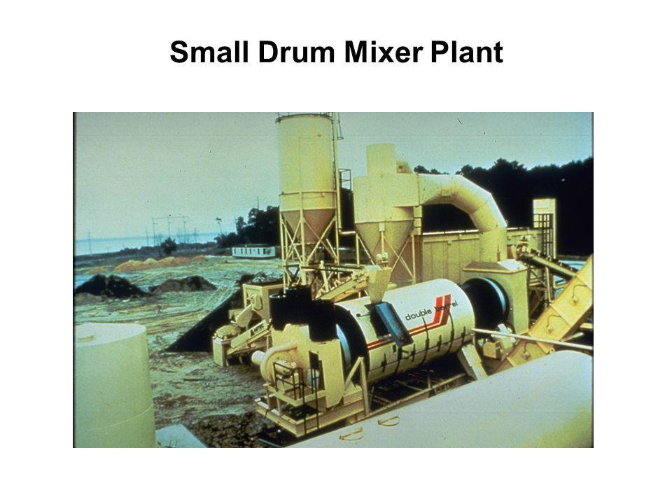 Small Drum Mixer Plant