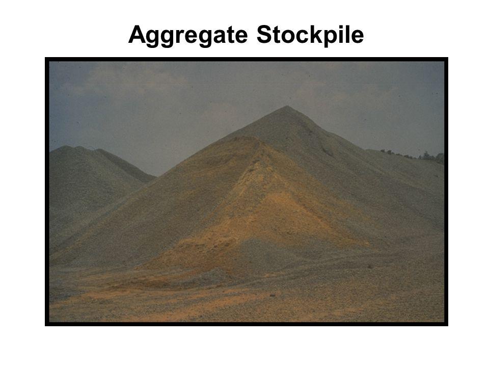 NCAT 7 Aggregate Stockpile