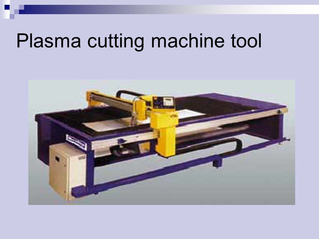 Plasma cutting machine tool