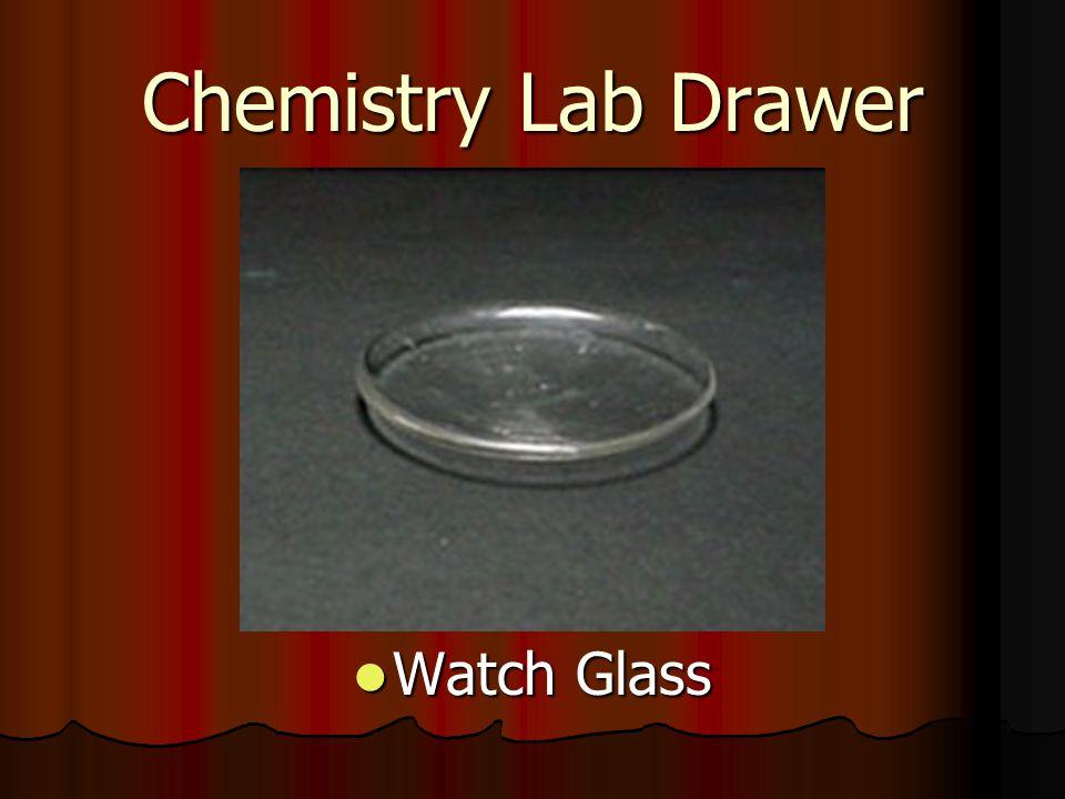 Chemistry Lab Drawer Watch Glass Watch Glass