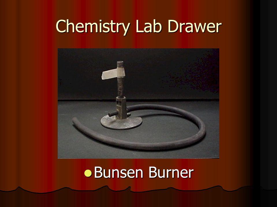 Chemistry Lab Drawer Bunsen Burner Bunsen Burner