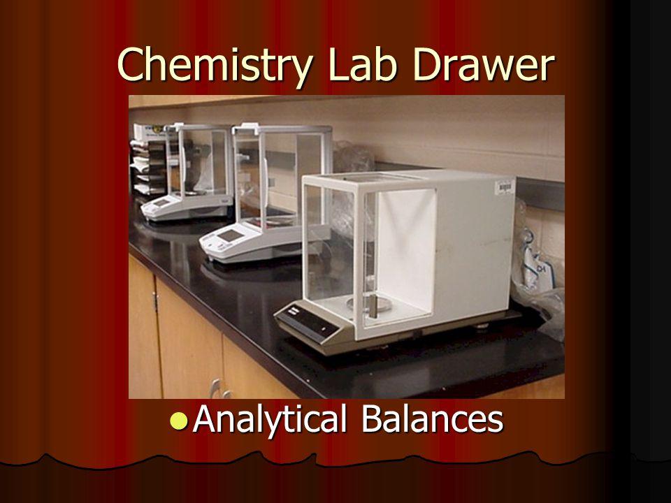 Chemistry Lab Drawer Analytical Balances Analytical Balances