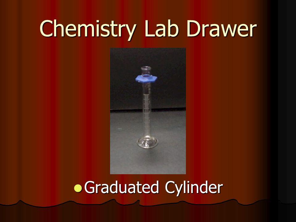 Chemistry Lab Drawer Graduated Cylinder Graduated Cylinder
