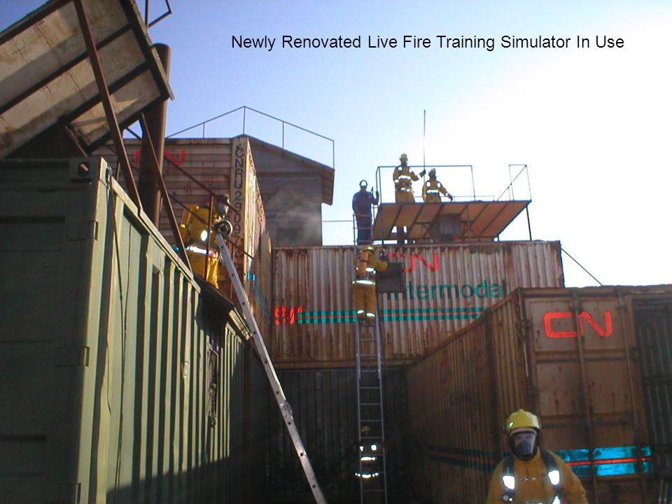 Newly Renovated Live Fire Training Simulator In Use