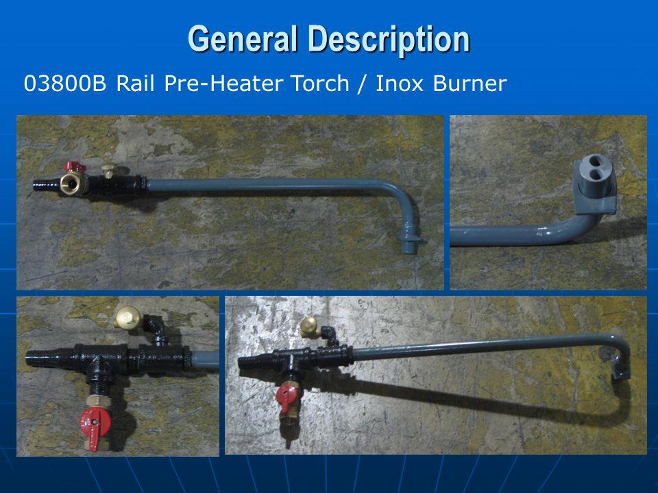 General Description Pre-Heater Torch Hoses (HPAP50) AIR - 3/4 Inside Diameter - 50 ft.
