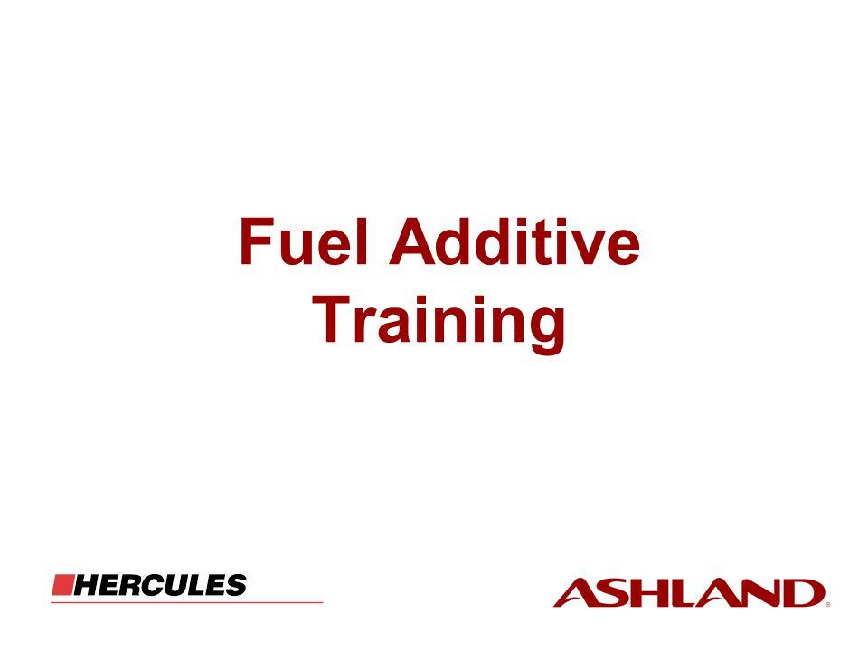 Fuel Additive Training