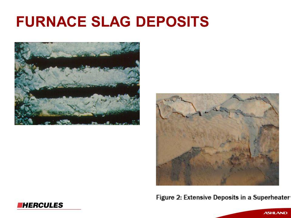 FURNACE SLAG DEPOSITS
