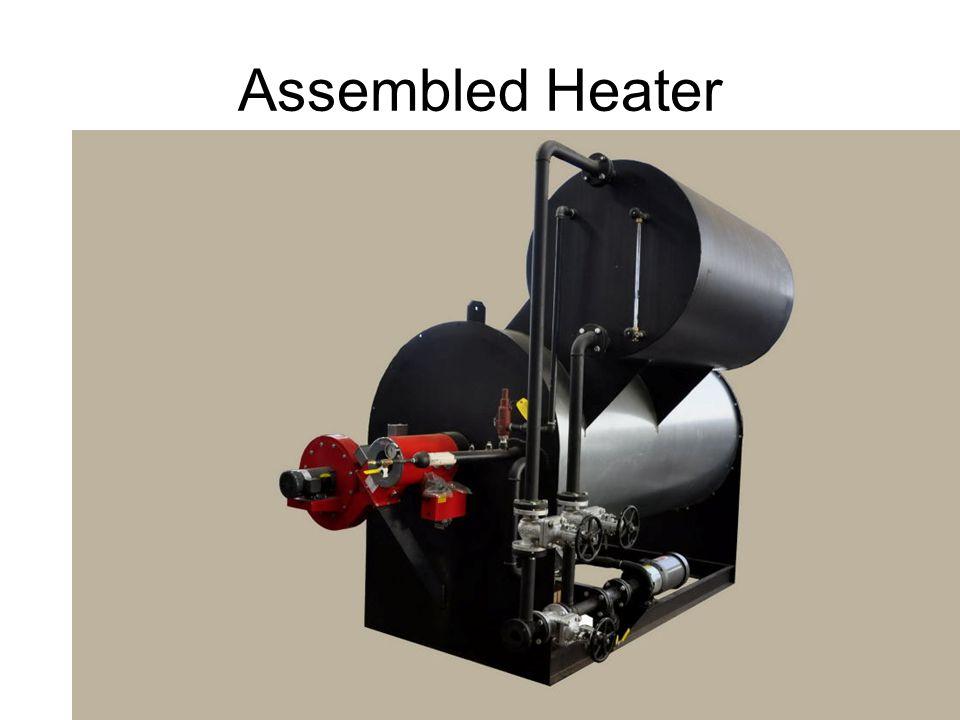 High efficiency Limpsfield burner.Clean burn with 2.4% excess O/2.