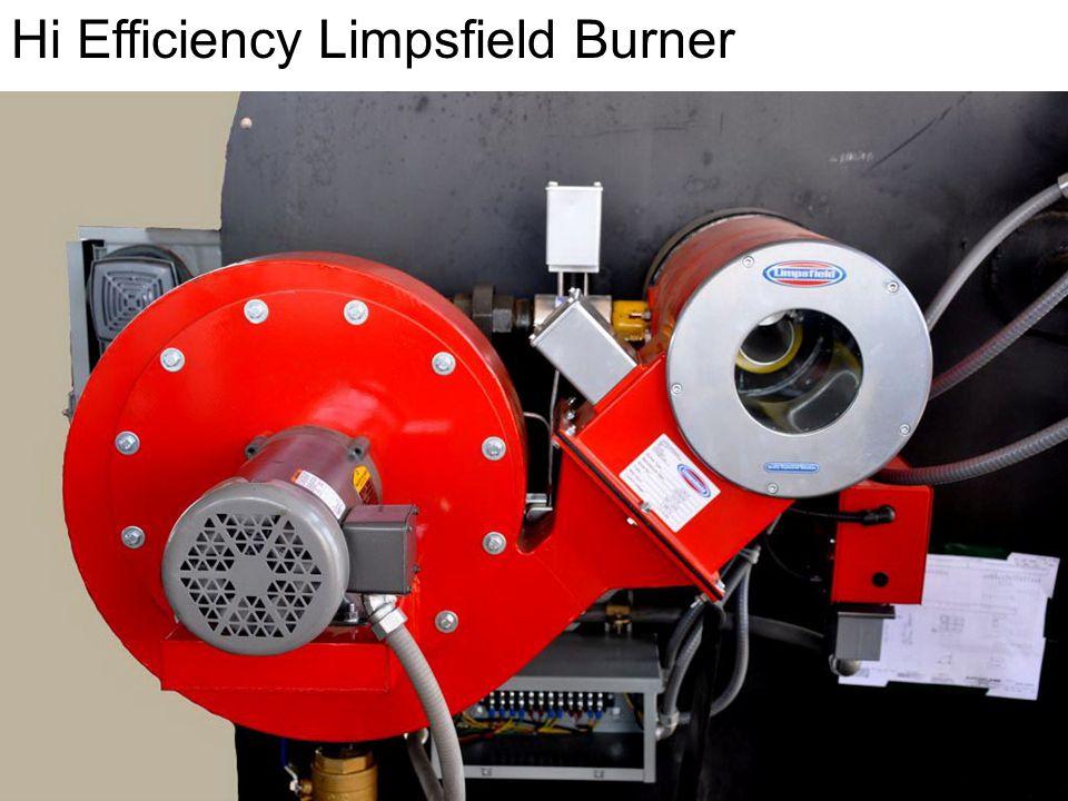 Setting Combustion on Limpsfield Burner.
