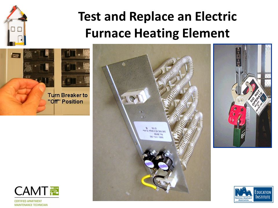 Test and Replace an Electric Furnace Heating Element