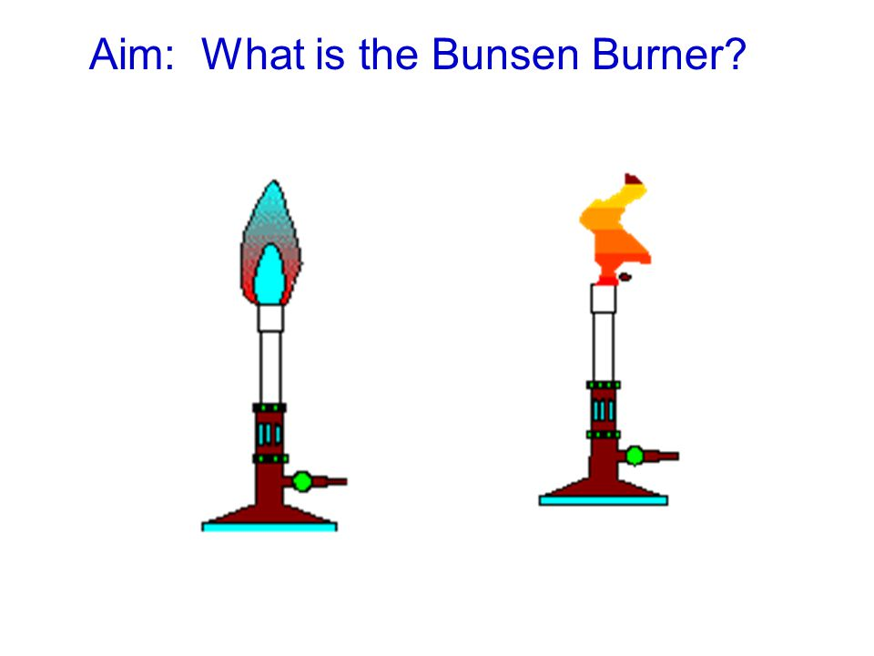 Aim: What is the Bunsen Burner?