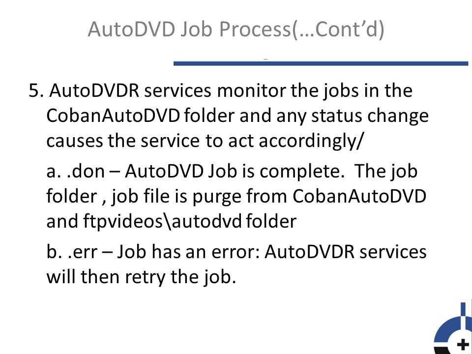 6.Logs and other folders associated to the Coban AutoDVD: a.