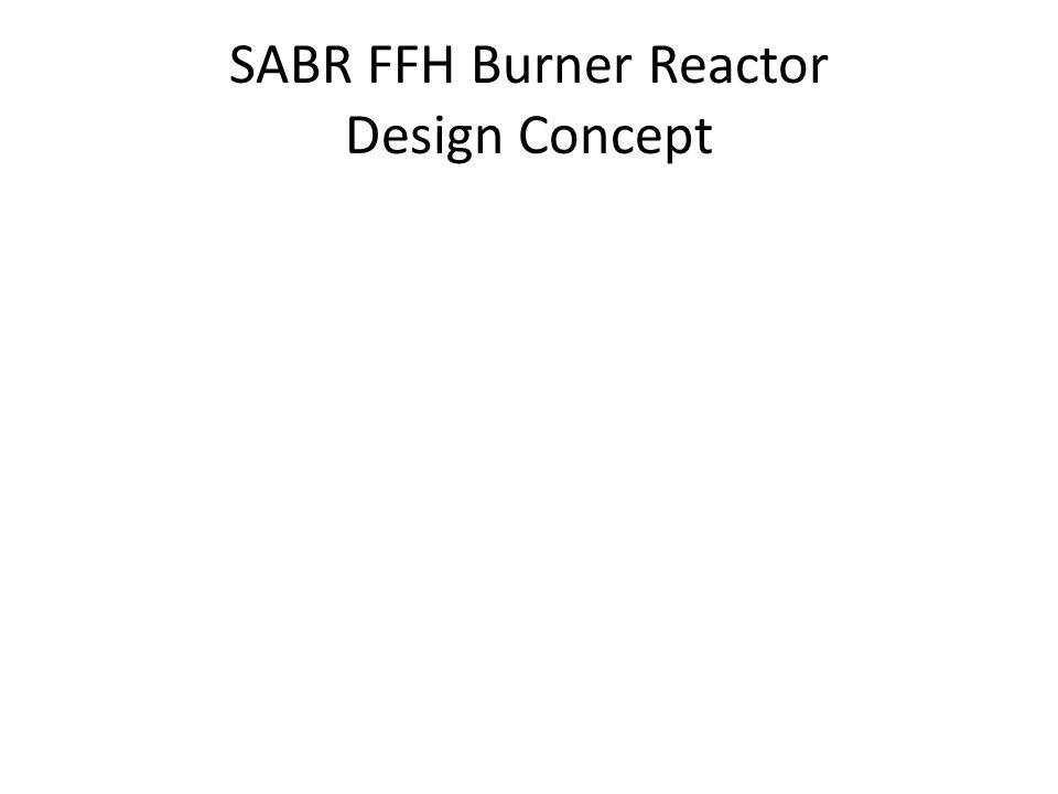 SABR FFH Burner Reactor Design Concept