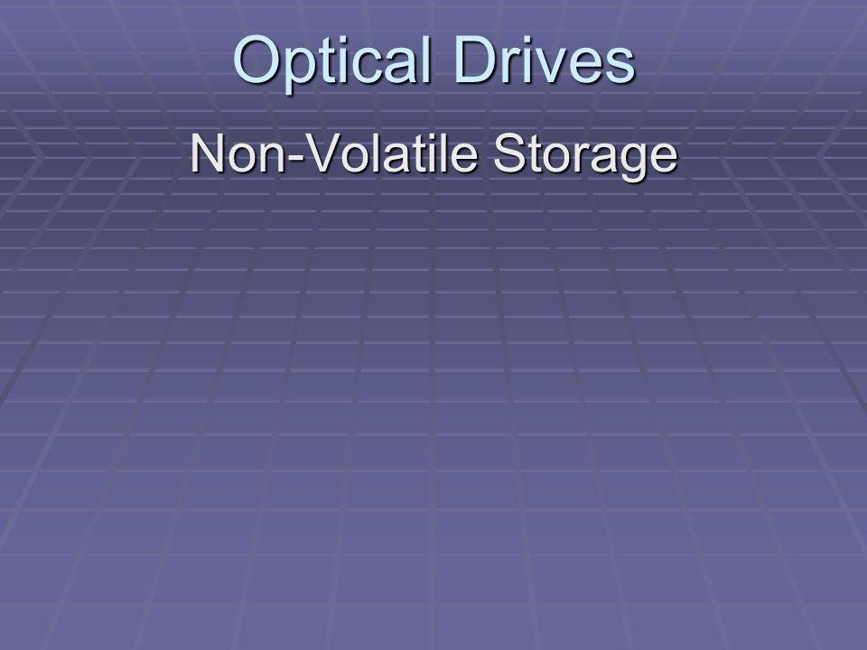 Optical Drives Non-Volatile Storage