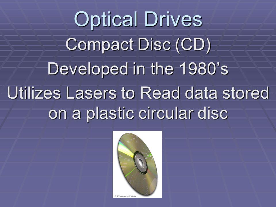Optical Drives DVD - Digital Versatile Disc