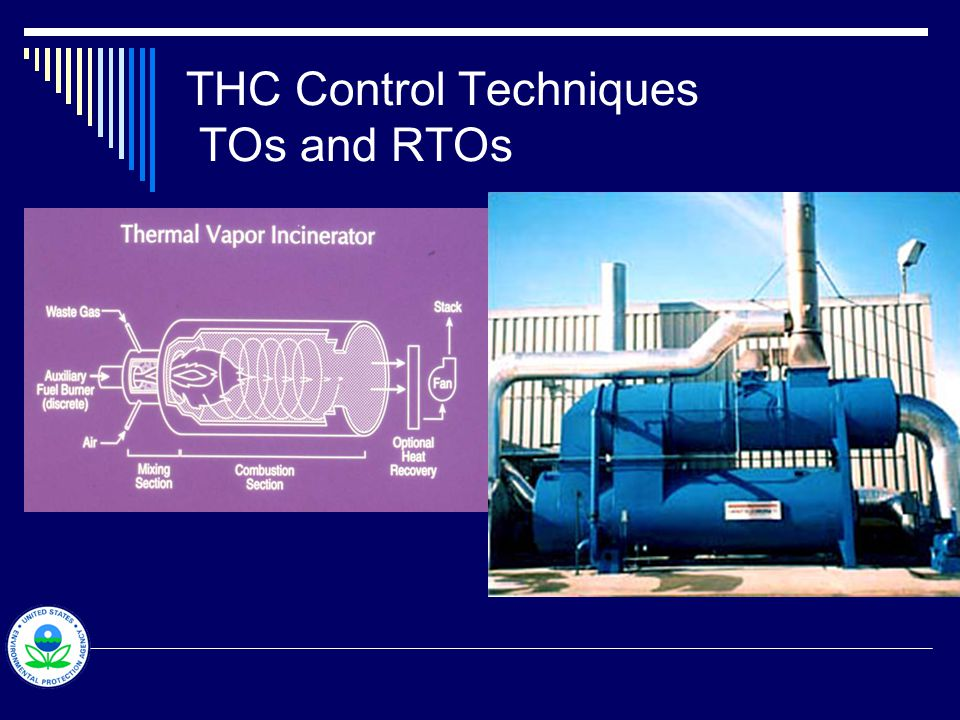 THC Control Techniques TOs and RTOs