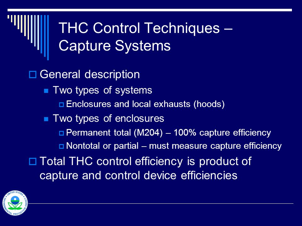 THC Control Techniques – Capture System - Schematics