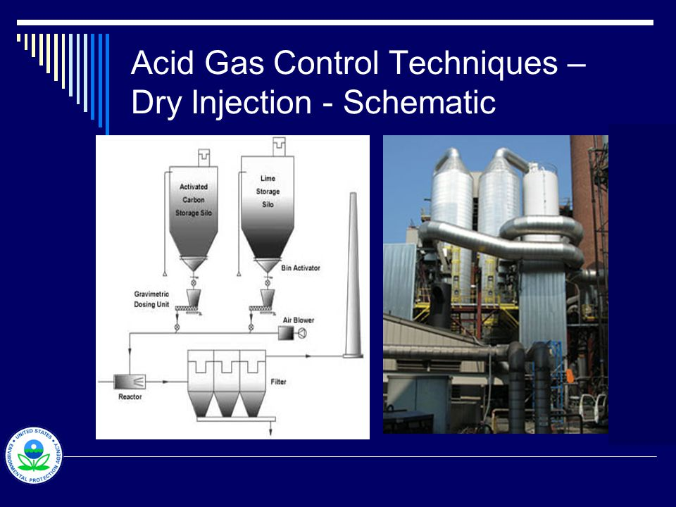 NO x Control Techniques – Selective Catalytic Reduction General description  Ammonia or urea is injected into exhaust streams with plenty of oxygen to reduce nitrogen oxide to nitrogen and oxygen  Efficiency ranges from 70 to 90 percent  Catalysts made from base and precious metals and zeolites  Operating temperatures range from 600 to 1100°F