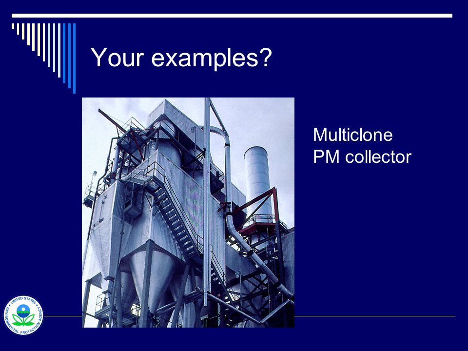 Your examples Multiclone PM collector